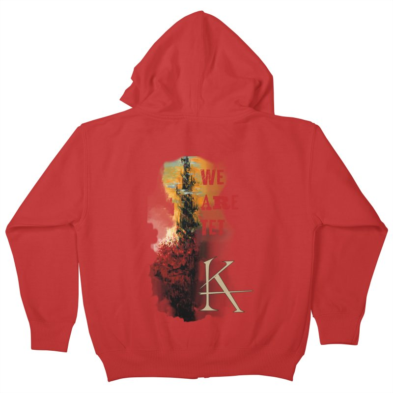 We are Tet Kids Zip-Up Hoody by Parkaboy Designs