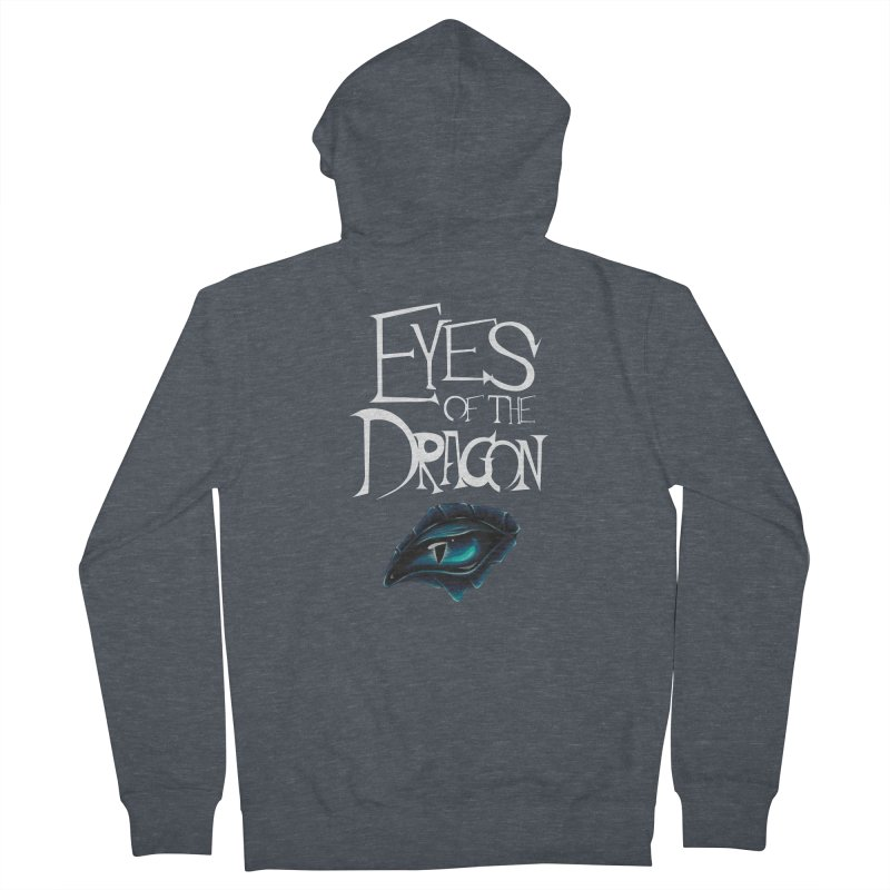 Dragon Eyes Women's Zip-Up Hoody by Parkaboy Designs