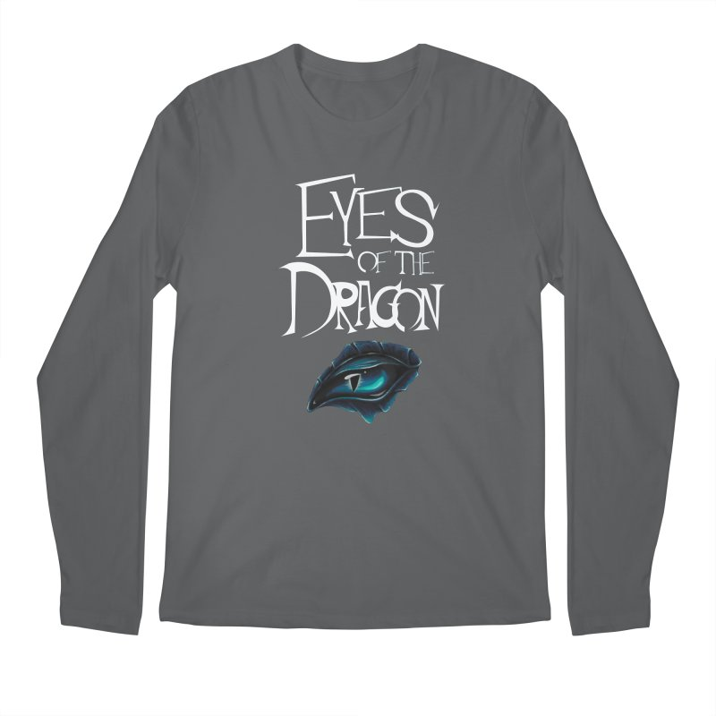 Dragon Eyes Men's Longsleeve T-Shirt by Parkaboy Designs