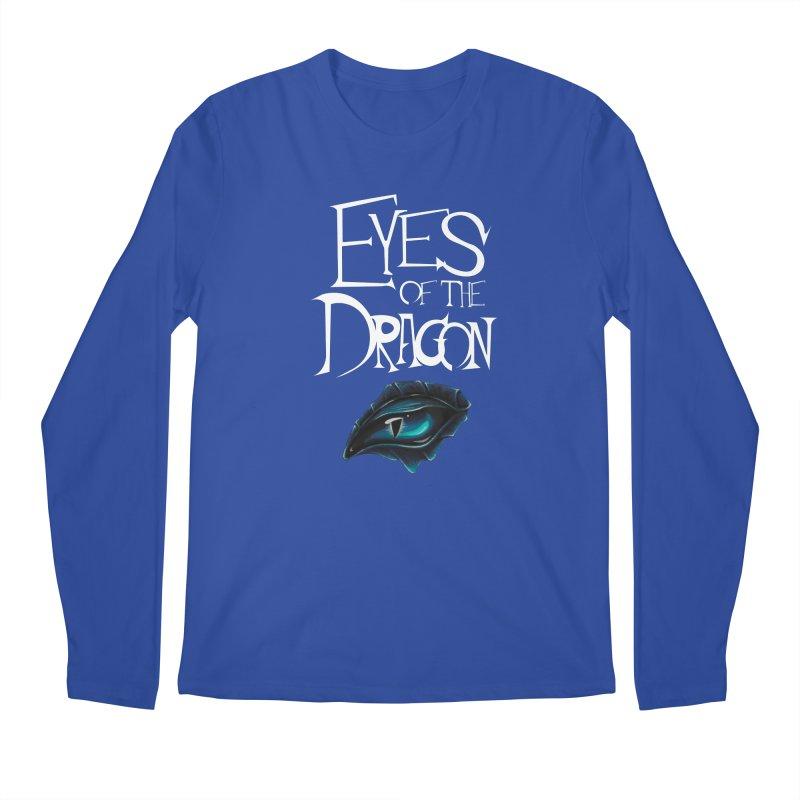 Dragon Eyes Men's Longsleeve T-Shirt by Parkaboy Designs
