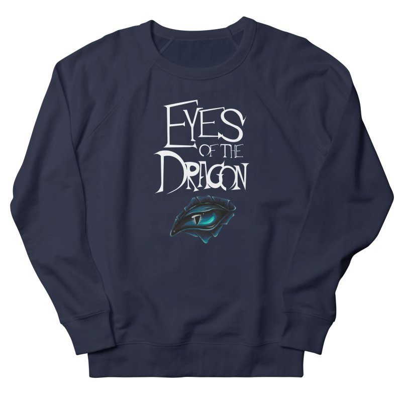 Dragon Eyes Men's French Terry Sweatshirt by Parkaboy Designs