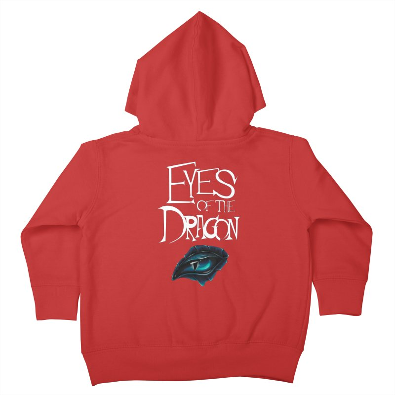 Dragon Eyes Kids Toddler Zip-Up Hoody by Parkaboy Designs