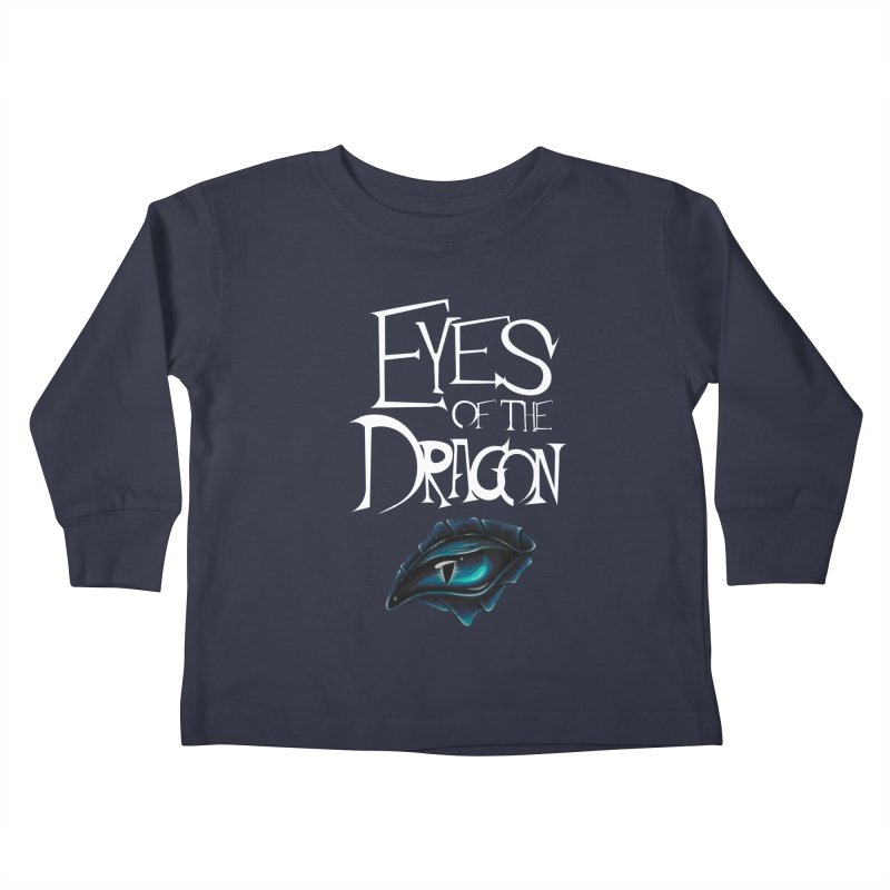 Dragon Eyes Kids Toddler Longsleeve T-Shirt by Parkaboy Designs