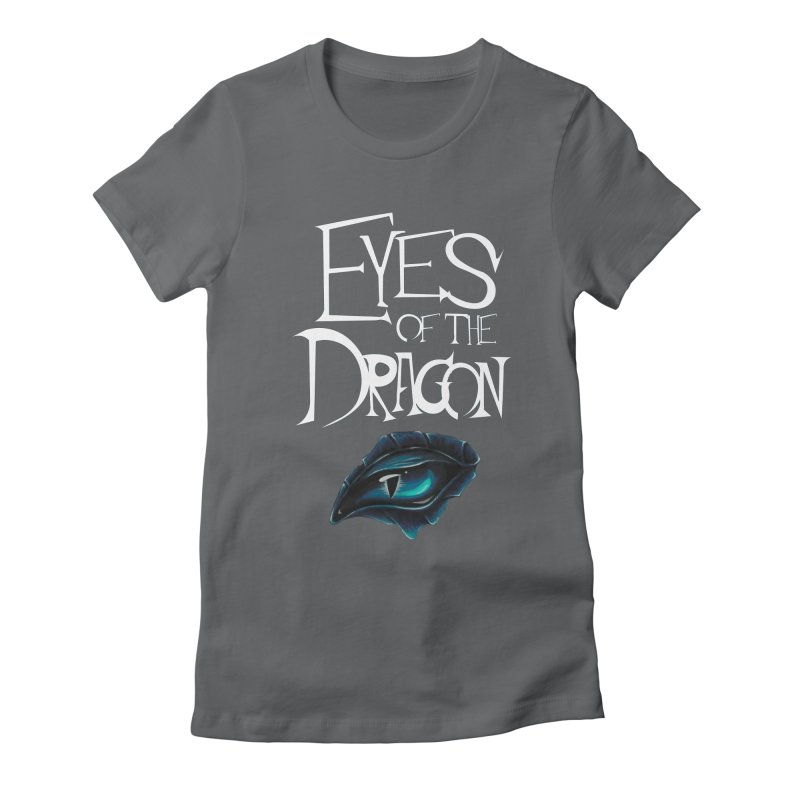 Dragon Eyes Women's Fitted T-Shirt by Parkaboy Designs