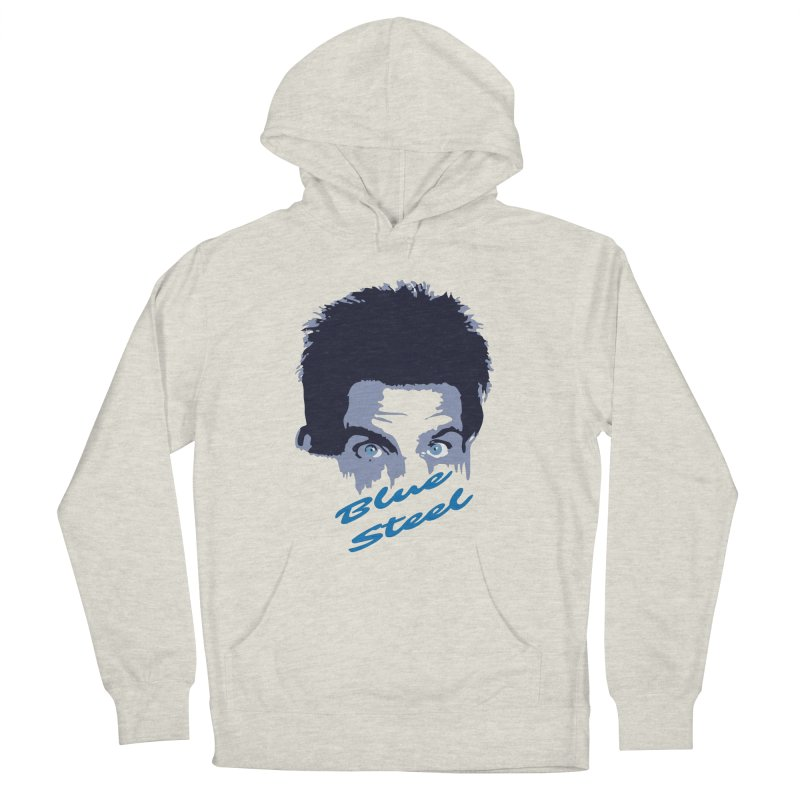 Blue Steel Sight Men's Pullover Hoody by Parkaboy Designs