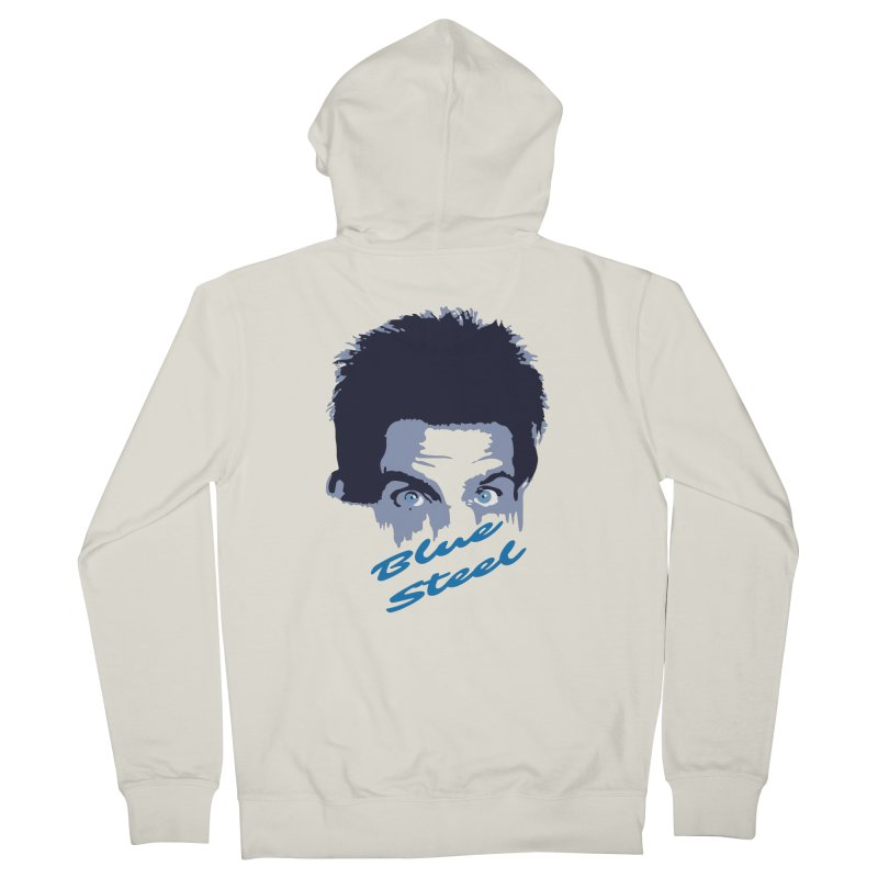 Blue Steel Sight Women's Zip-Up Hoody by Parkaboy Designs