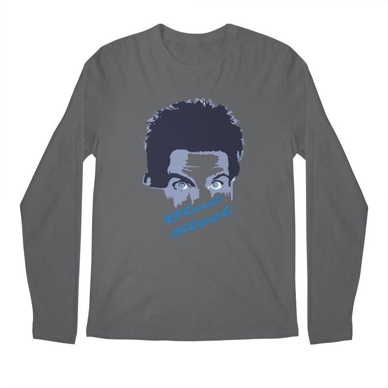 Blue Steel Sight Men's Longsleeve T-Shirt by Parkaboy Designs
