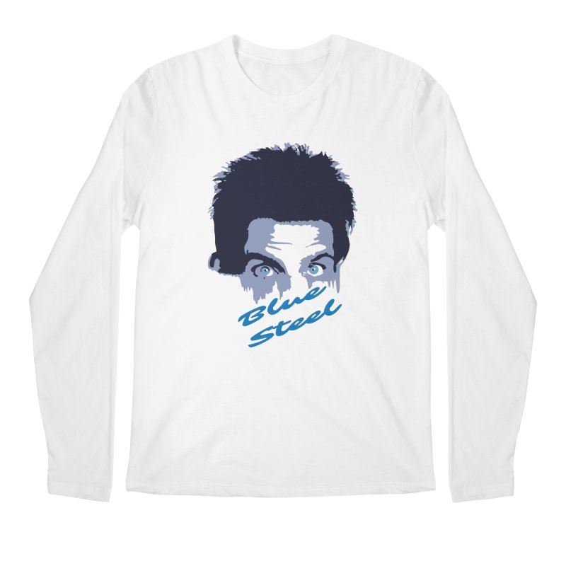 Blue Steel Sight Men's Longsleeve T-Shirt by Parkaboy Designs