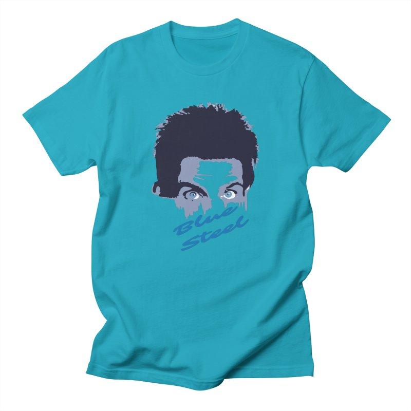 Blue Steel Sight Men's T-shirt by Parkaboy Designs