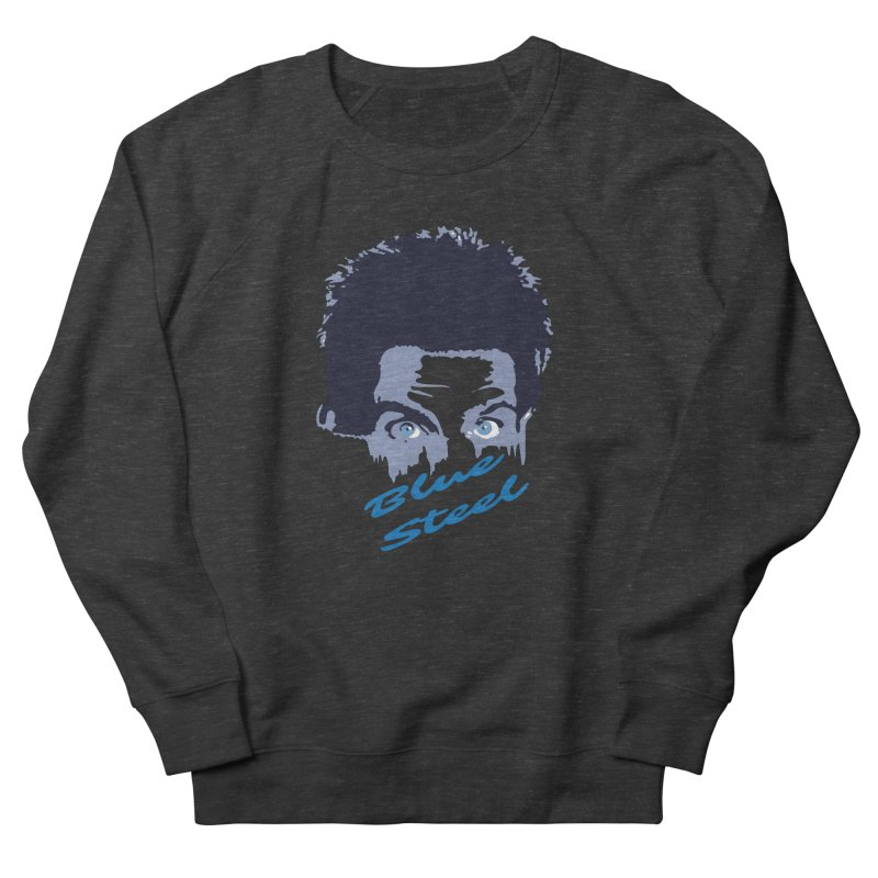Blue Steel Sight Women's Sweatshirt by Parkaboy Designs
