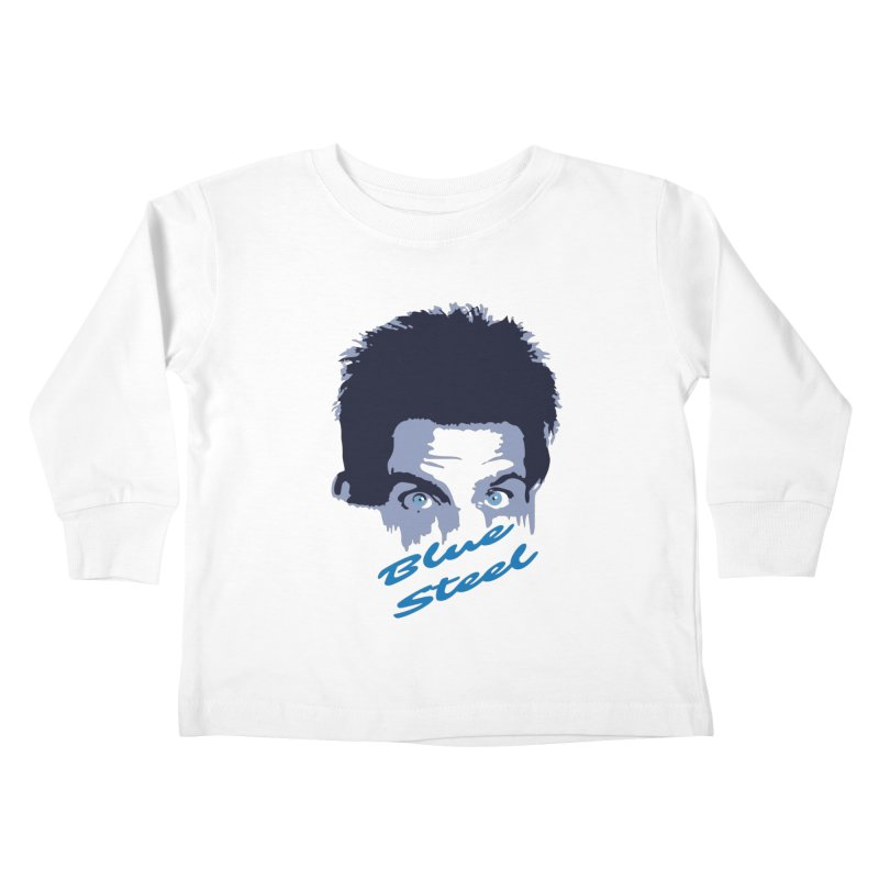 Blue Steel Sight Kids Toddler Longsleeve T-Shirt by Parkaboy Designs