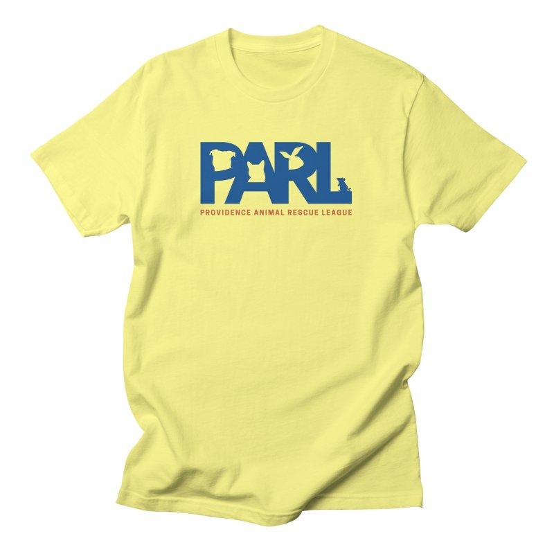 PARL Color Logo Men's T-Shirt by Providence Animal Rescue League Merchandise