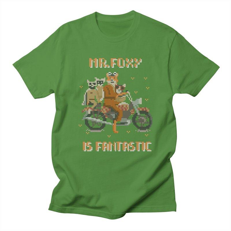 Mr Foxie is Fantastic! Men's Regular T-Shirt by The Cool Orange