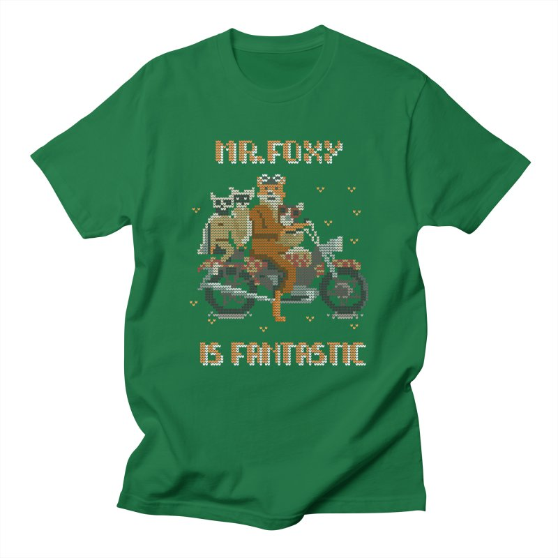 Mr Foxie is Fantastic! Men's T-Shirt by The Cool Orange