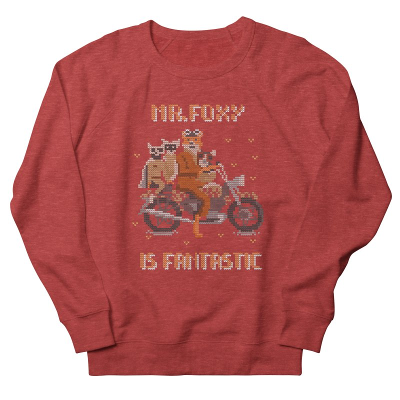 Mr Foxie is Fantastic! Men's French Terry Sweatshirt by The Cool Orange