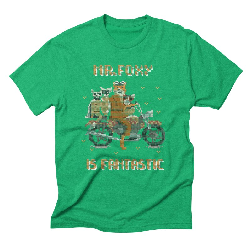 Mr Foxie is Fantastic! Men's Triblend T-Shirt by The Cool Orange