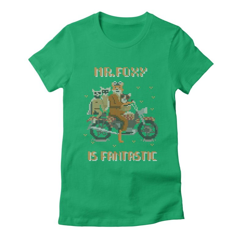 Mr Foxie is Fantastic! Women's T-Shirt by The Cool Orange