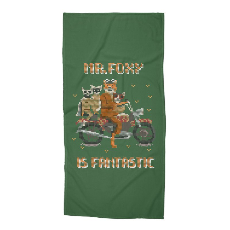 Mr Foxie is Fantastic! Accessories Beach Towel by The Cool Orange