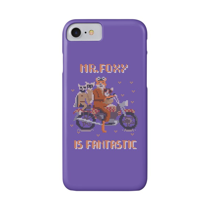 Mr Foxie is Fantastic! Accessories Phone Case by The Cool Orange