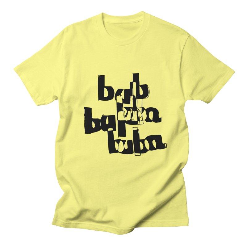 Black Bulbas Men's Regular T-Shirt by particulescreatives's Artist Shop