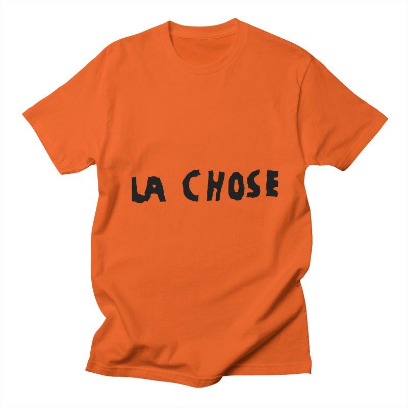 La chose Men's Regular T-Shirt by particulescreatives's Artist Shop