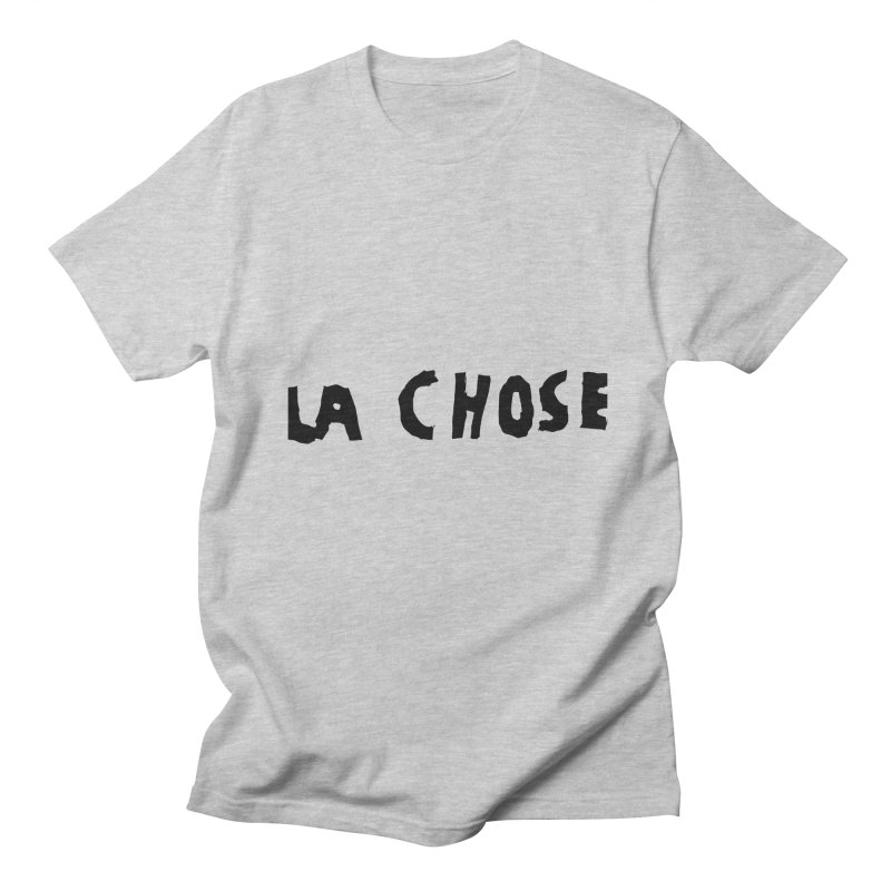 La chose Men's Regular T-Shirt by particulescreatives's Artist Shop