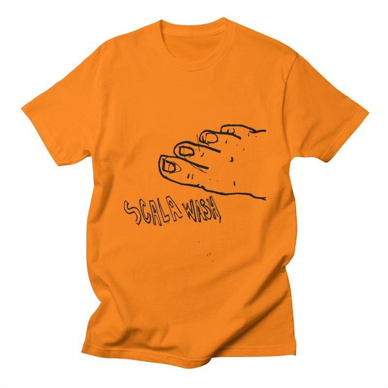 Scala wash feet Men's Regular T-Shirt by particulescreatives's Artist Shop