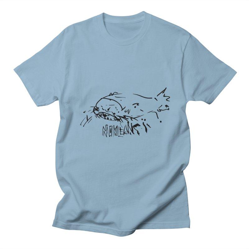 Poisson chat Men's Regular T-Shirt by particulescreatives's Artist Shop
