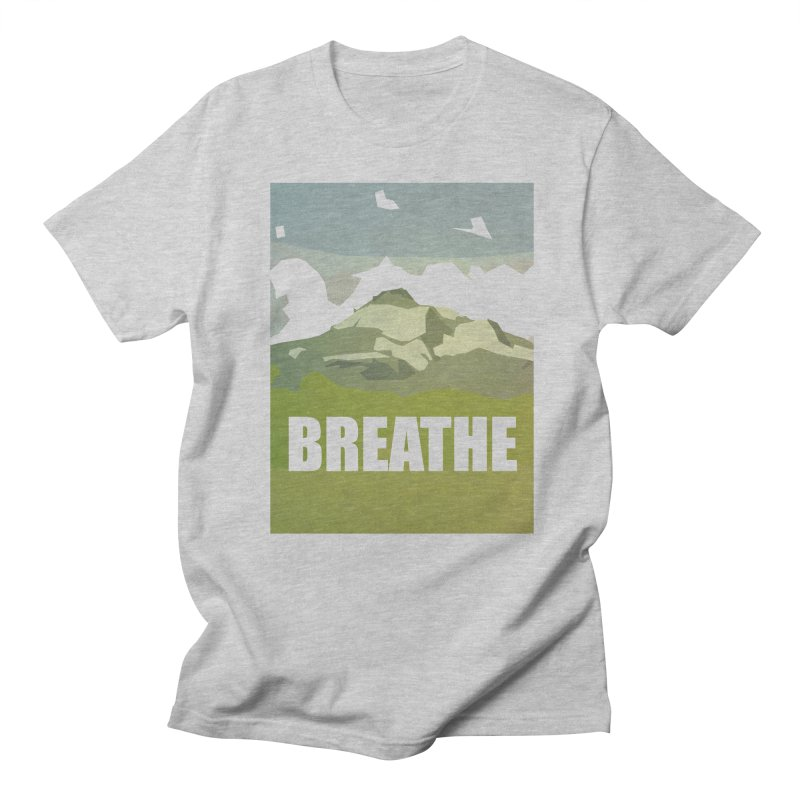 Breathe Men's Regular T-Shirt by particulescreatives's Artist Shop