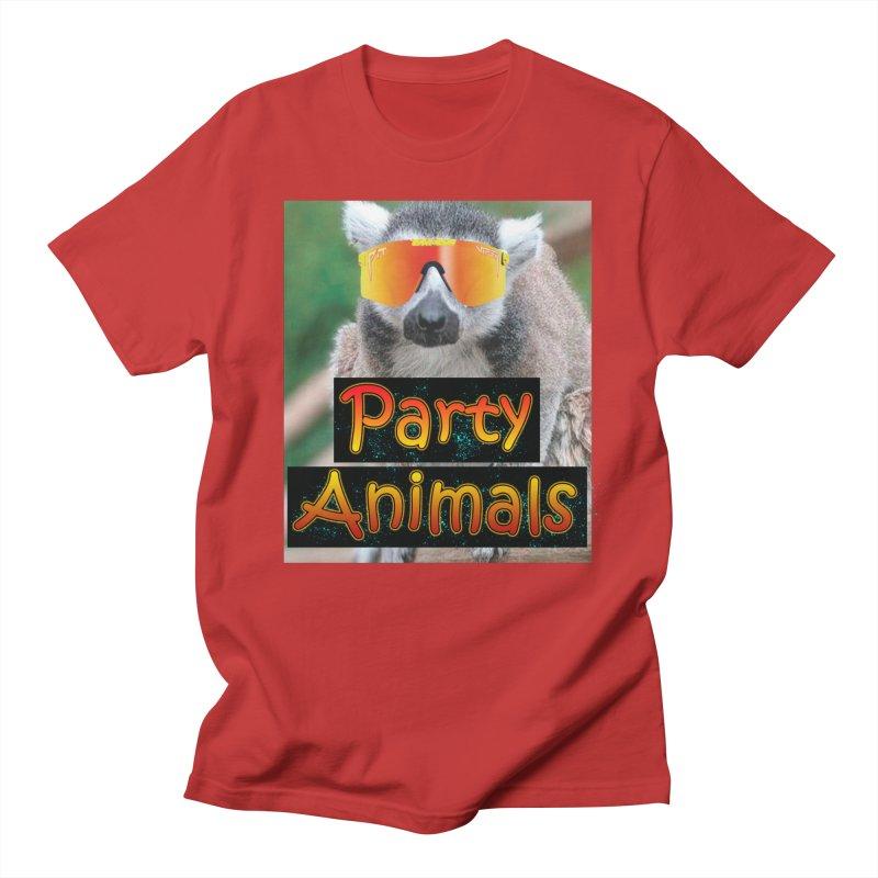 Party Animals Men's T-Shirt by partyanimalstv's Artist Shop