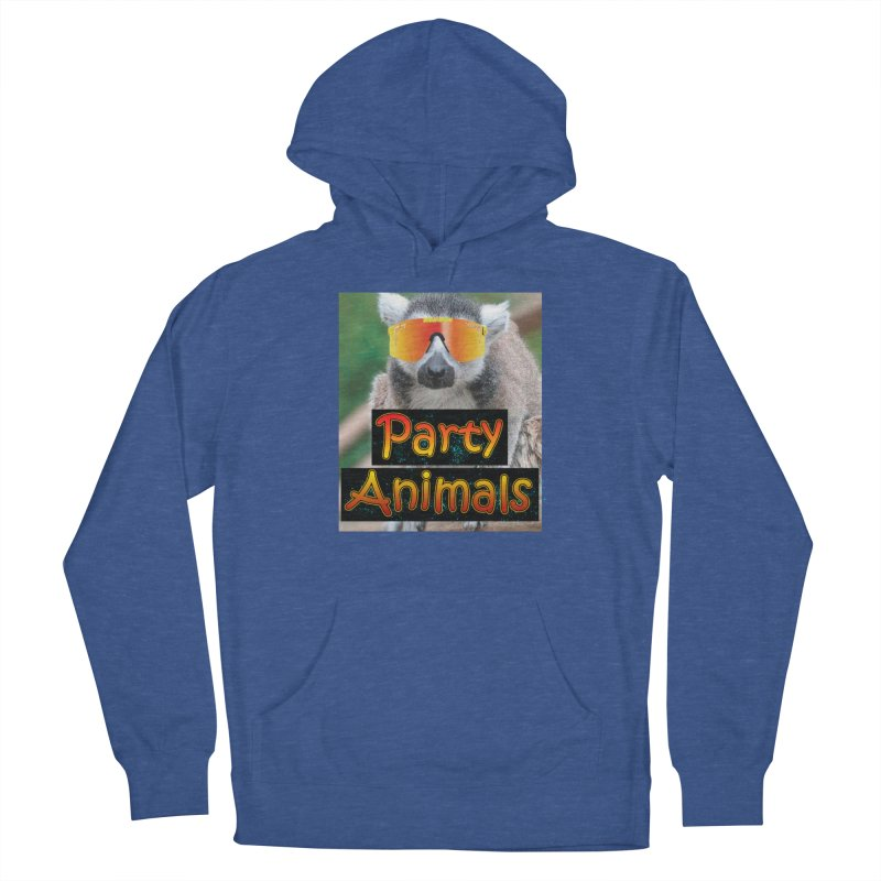 Party Animals Men's Pullover Hoody by partyanimalstv's Artist Shop
