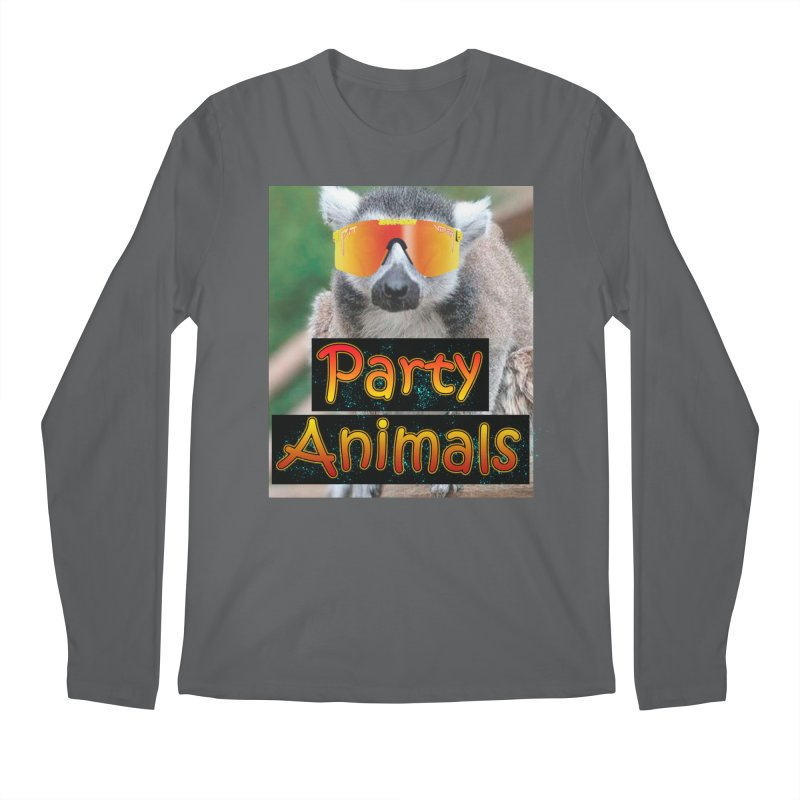 Party Animals Men's Longsleeve T-Shirt by partyanimalstv's Artist Shop