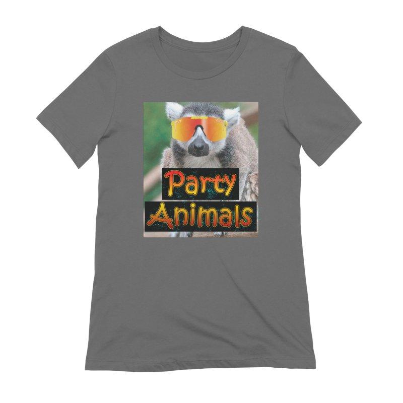 Party Animals Women's T-Shirt by partyanimalstv's Artist Shop