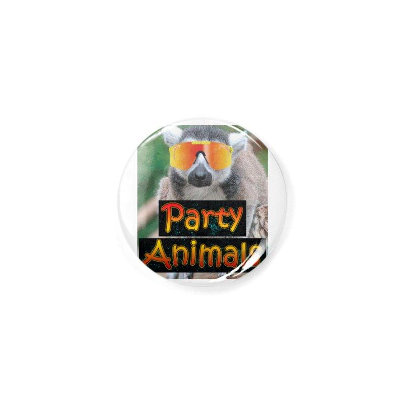 Party Animals Accessories Button by partyanimalstv's Artist Shop