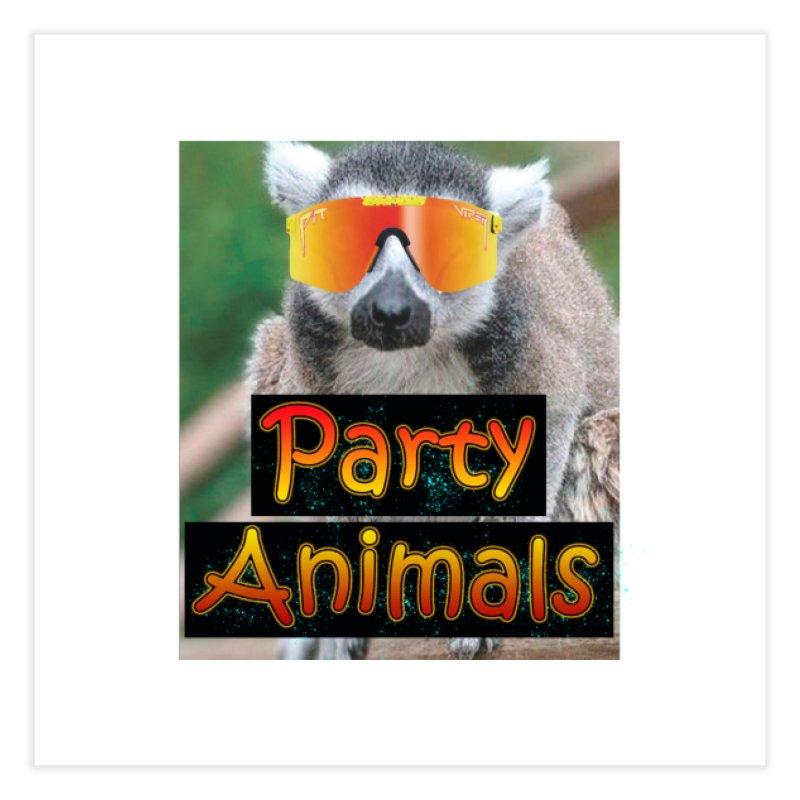 Party Animals Home Fine Art Print by partyanimalstv's Artist Shop