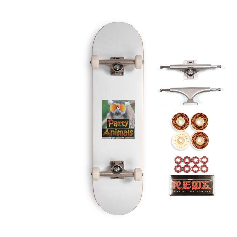 Party Animals Accessories Skateboard by partyanimalstv's Artist Shop