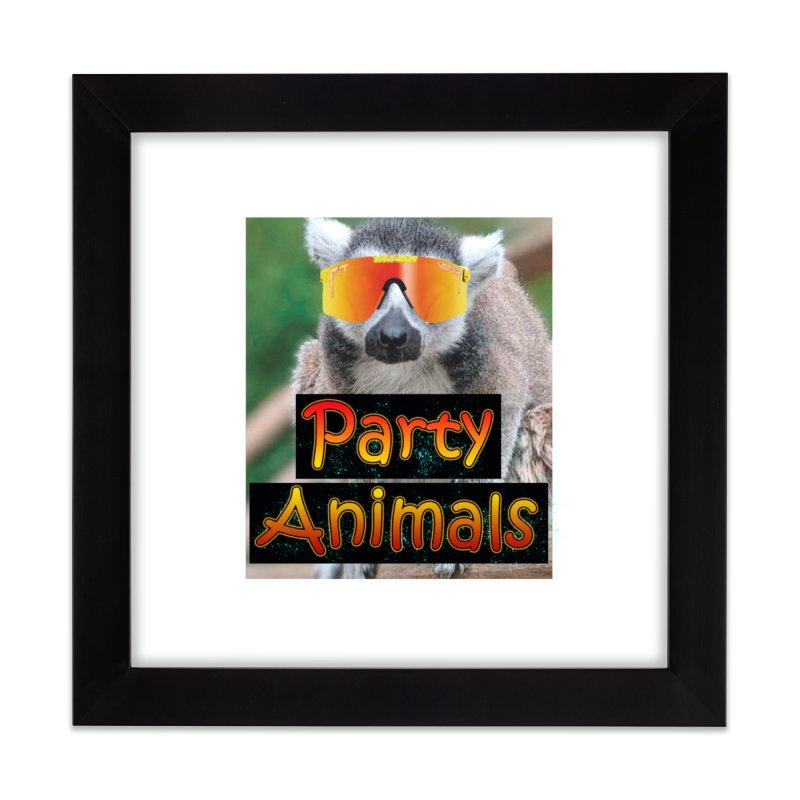 Party Animals Home Framed Fine Art Print by partyanimalstv's Artist Shop