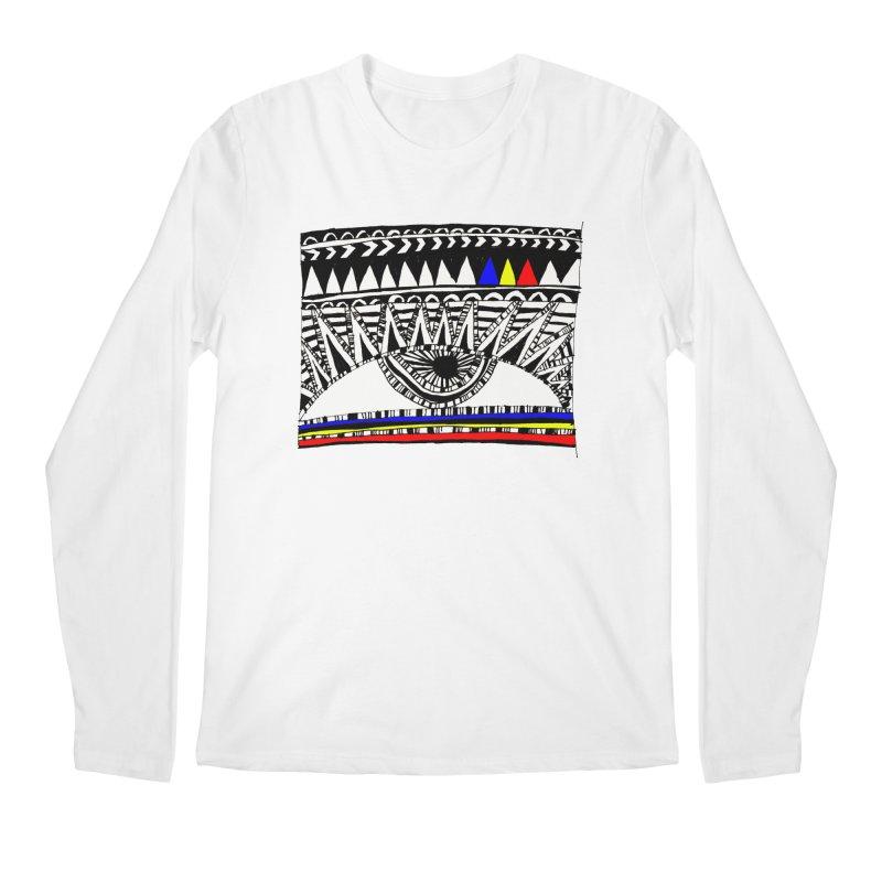 Eye of Ra Men's Regular Longsleeve T-Shirt by PASTEL HONG ART