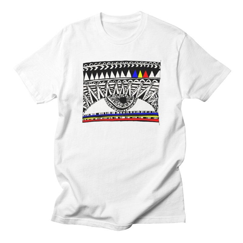 Eye of Ra Men's T-shirt by PASTEL HONG ART