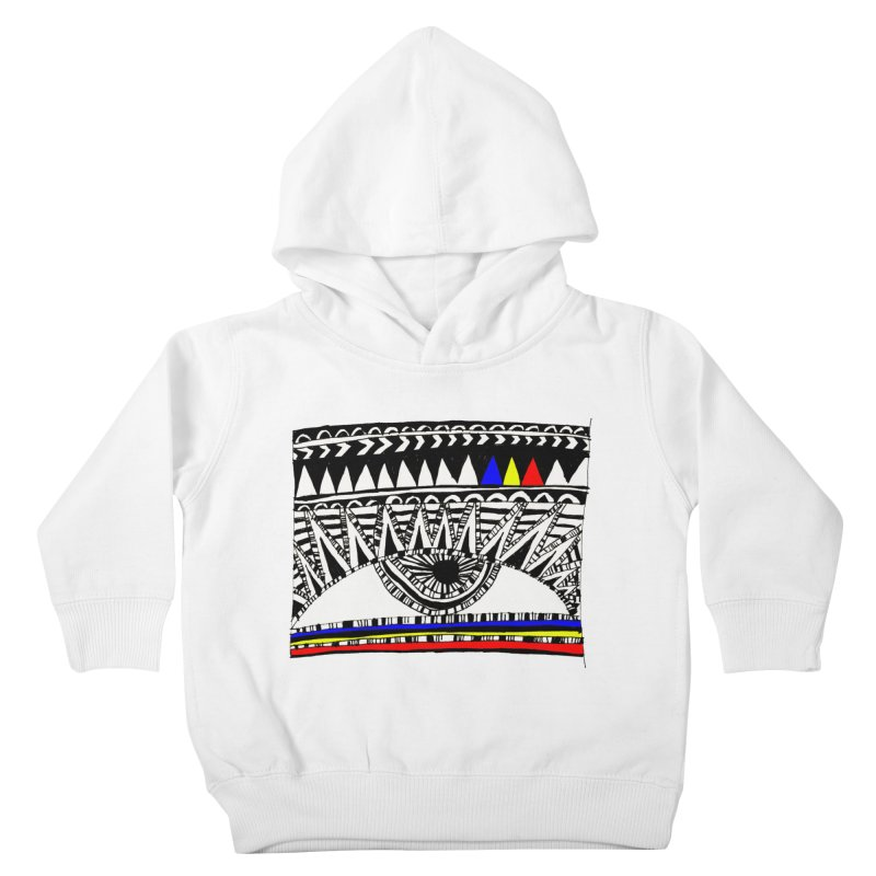 Eye of Ra Kids Toddler Pullover Hoody by PASTEL HONG ART