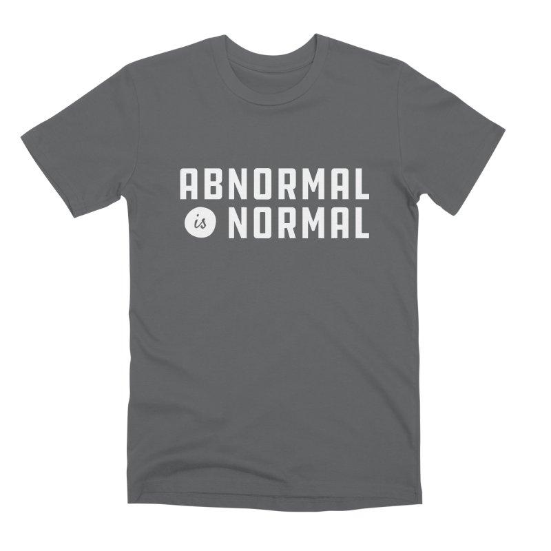 Abnormal is Normal Men's Premium T-Shirt by A Wonderful Shop of Wonderful Wonders