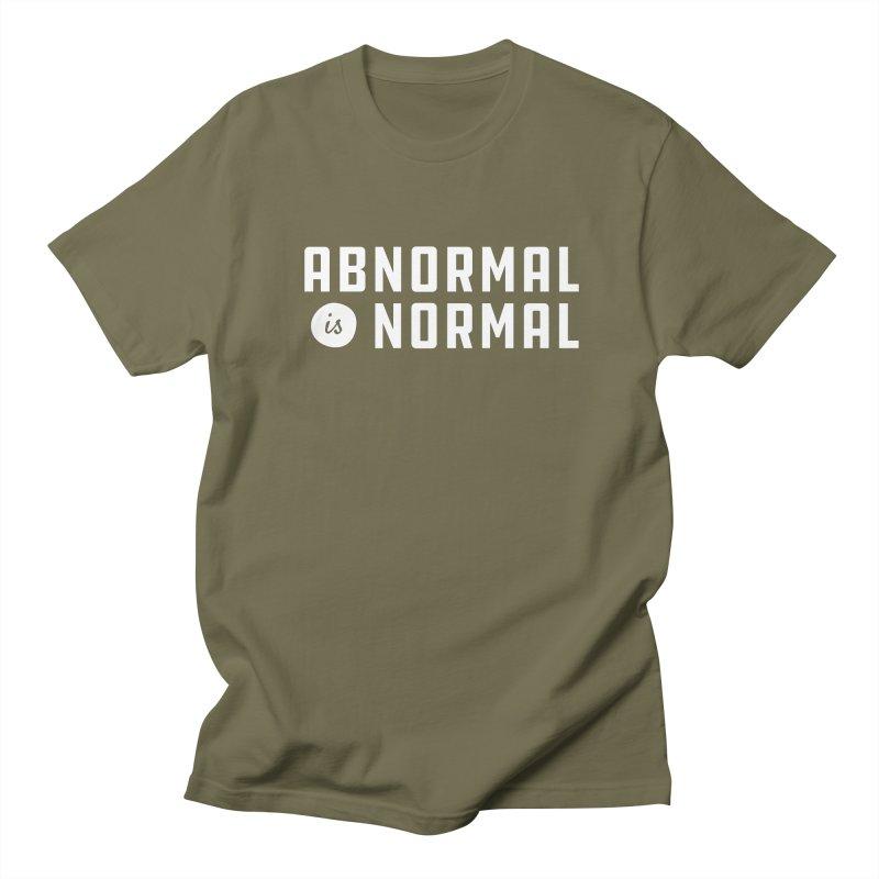 Abnormal is Normal Men's Regular T-Shirt by A Wonderful Shop of Wonderful Wonders