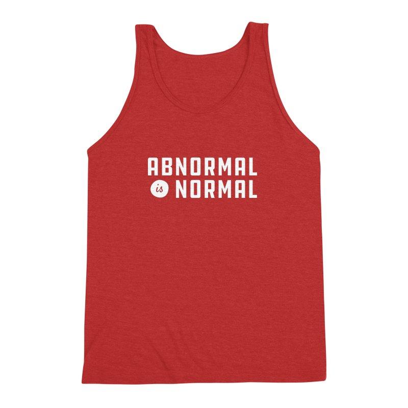 Abnormal is Normal Men's Triblend Tank by A Wonderful Shop of Wonderful Wonders