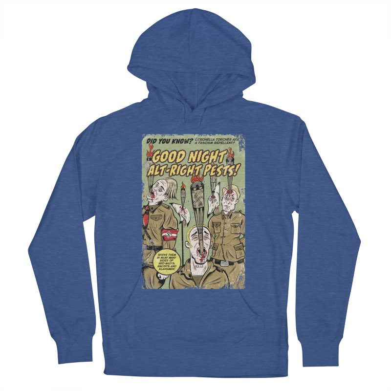 Citronella: Fascism Repellent Women's Pullover Hoody by Pat Higgins Illustration