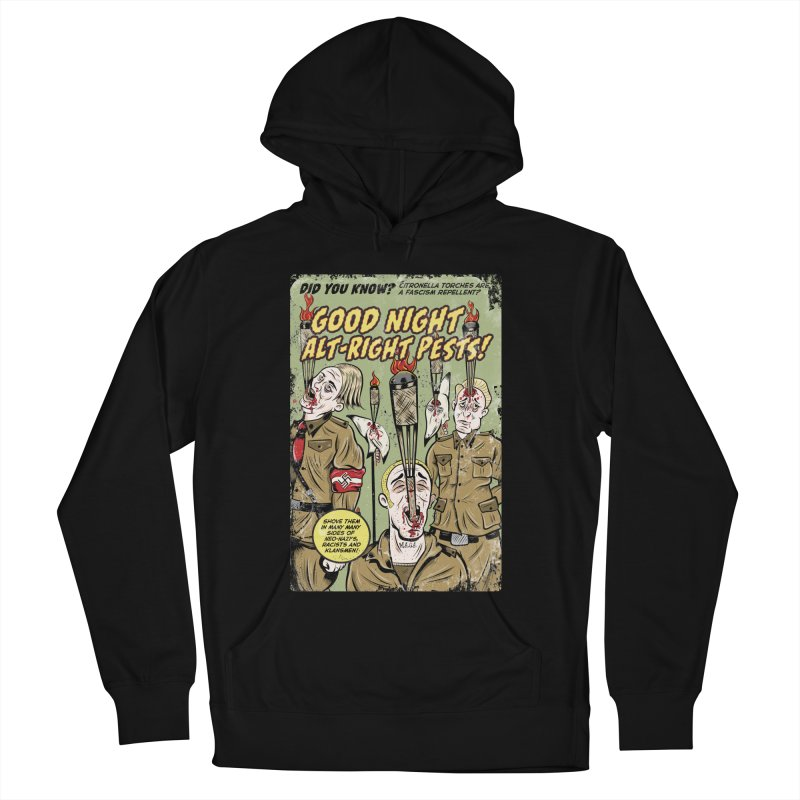 Citronella: Fascism Repellent Men's Pullover Hoody by Pat Higgins Illustration
