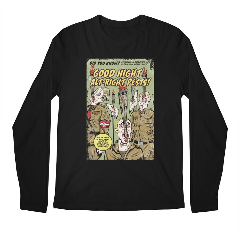Citronella: Fascism Repellent Men's Longsleeve T-Shirt by Pat Higgins Illustration
