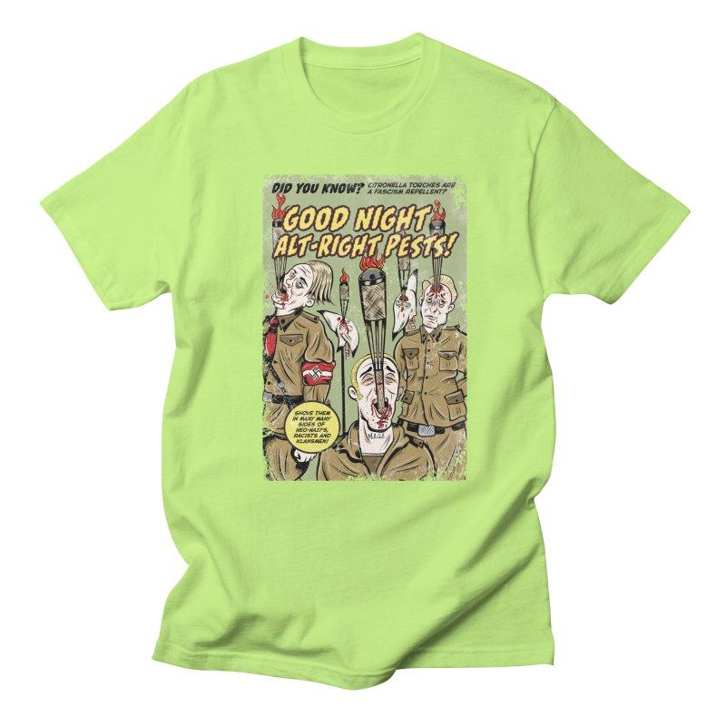Citronella: Fascism Repellent Men's T-shirt by Pat Higgins Illustration