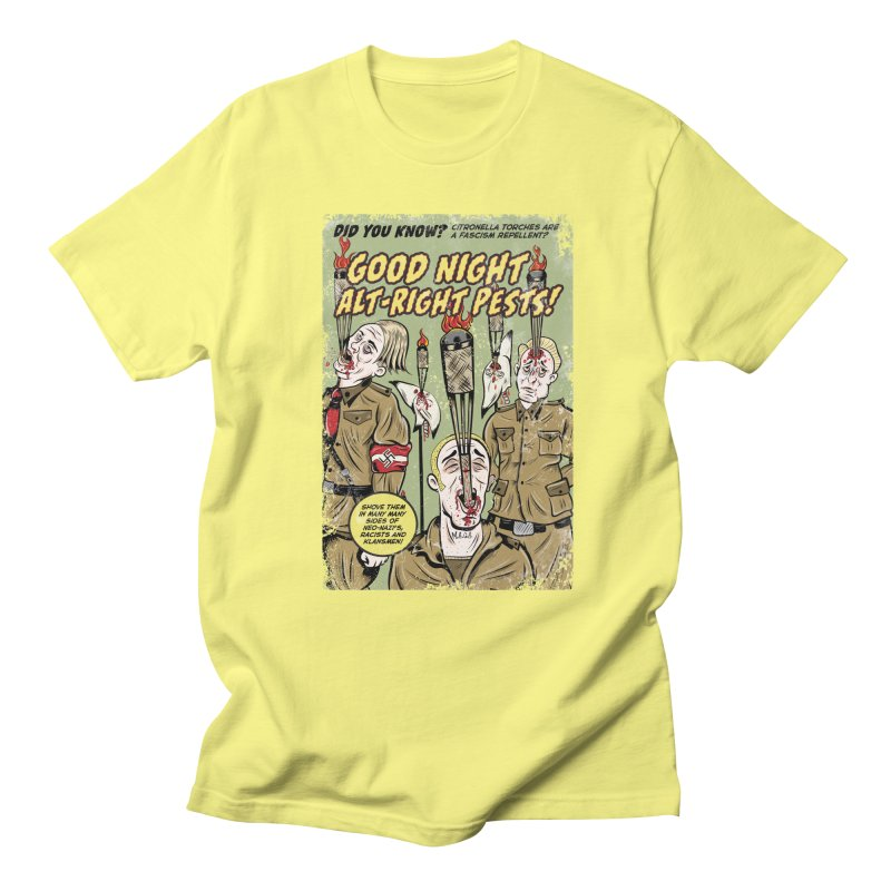 Citronella: Fascism Repellent Men's T-Shirt by Pat Higgins Illustration