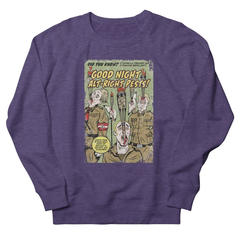 Citronella: Fascism Repellent Women's Sweatshirt by Pat Higgins Illustration