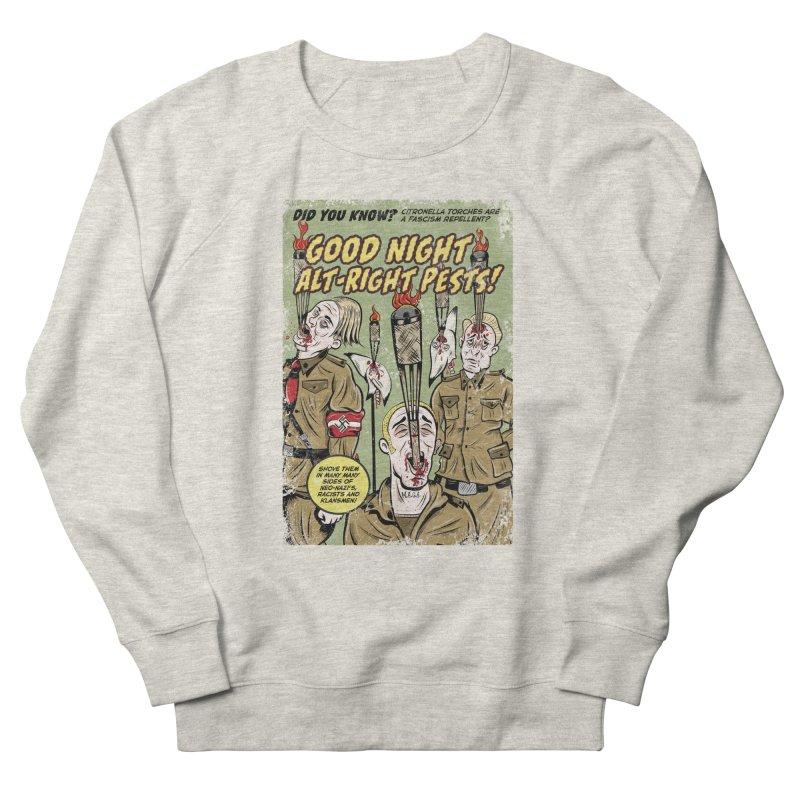 Citronella: Fascism Repellent Women's Sweatshirt by Pat Higgins Illustration